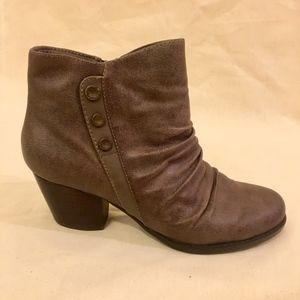 Brown Booties Size 6.5